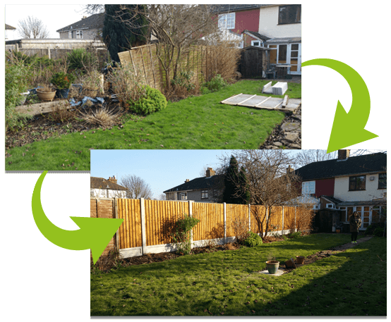 Closeboard Panel Replacement   Chelmsford Fencing and Landscaping