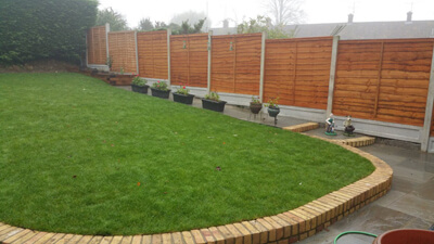 Lap Panel   Chelmsford Fencing and Landscaping