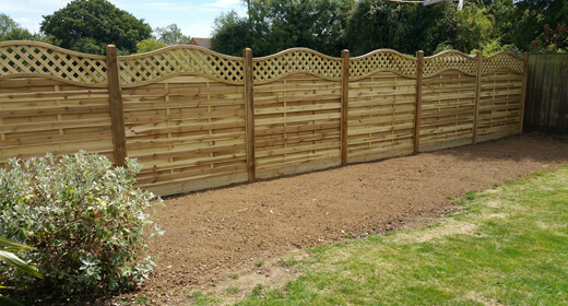 Garden Fencing Essex