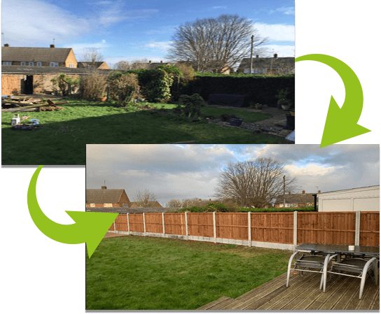 10 bays of fencing fitted in Forest Drive   Chelmsford Fencing and Landscaping