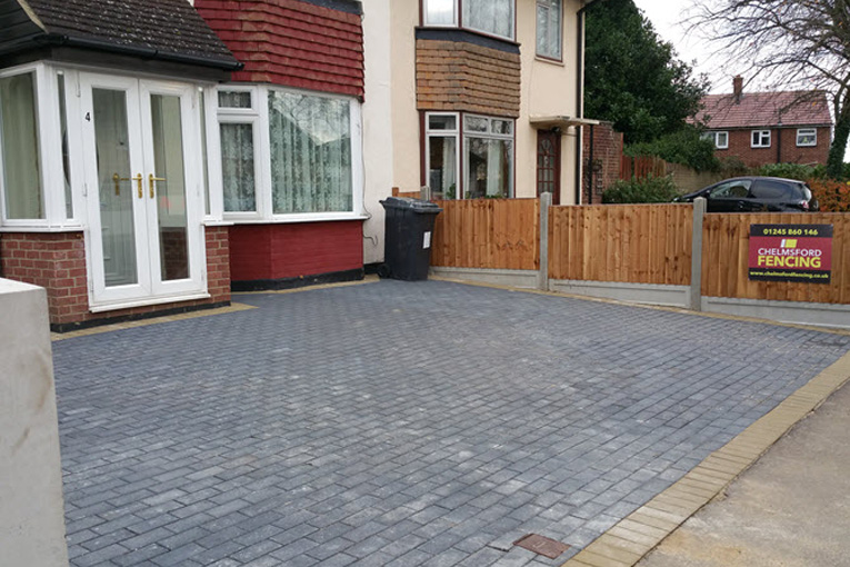 Block Paving Driveway Installation | Chelmsford Fencing and Landscaping