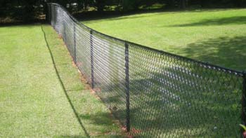 Chainlink image under Fencing page - Chelmsford Fencing and Landscaping