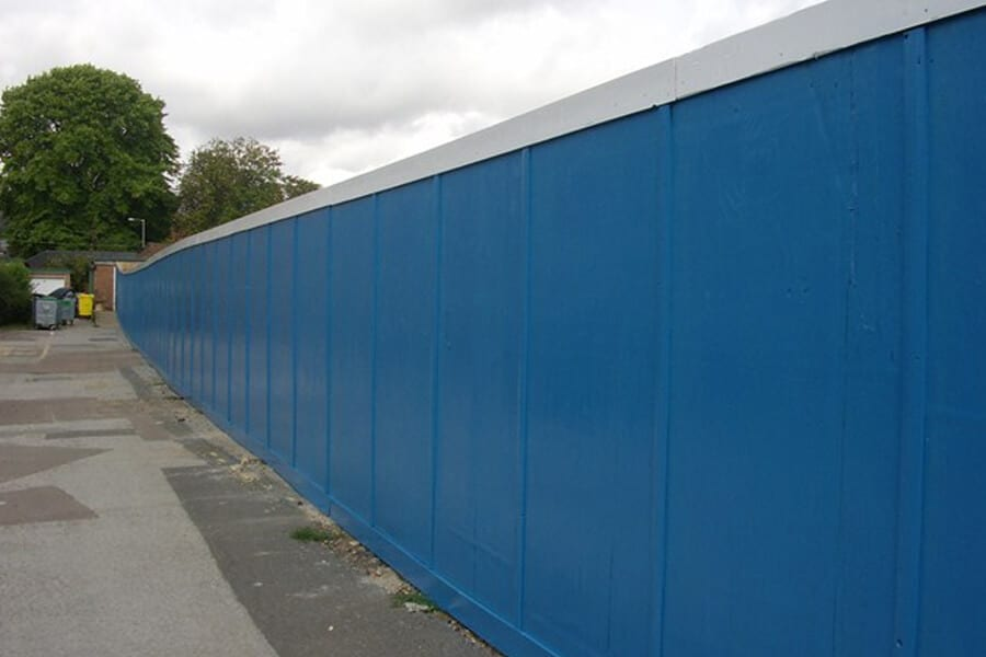 Construction Site Hoarding - Chelmsford Fencing and Landscaping