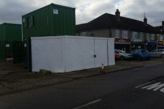 Construction Site Hoarding | Chelmsford Fencing and Landscaping6