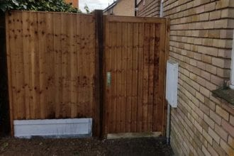 Garden Gates Installation   Chelmsford Fencing and Landscaping