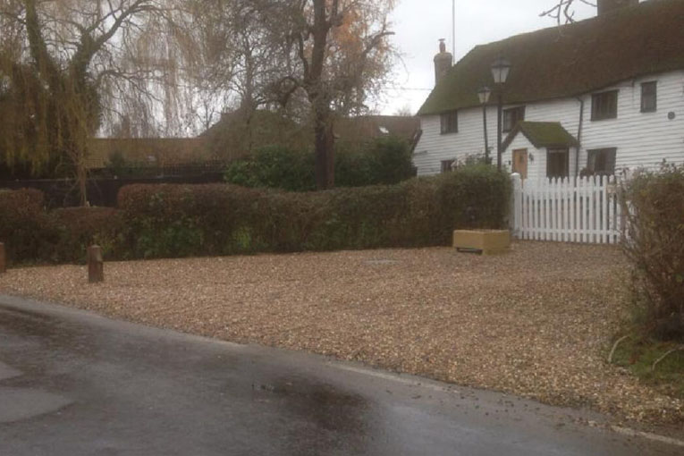 Gravel Driveway Installation   Chelmsford Fencing and Landscaping