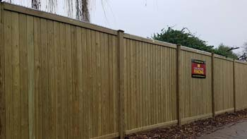 Panel Fencing   Chelmsford Fencing and Landscaping