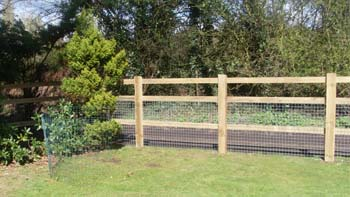 Post & Rail Container Image   Chelmsford Fencing and Landscaping