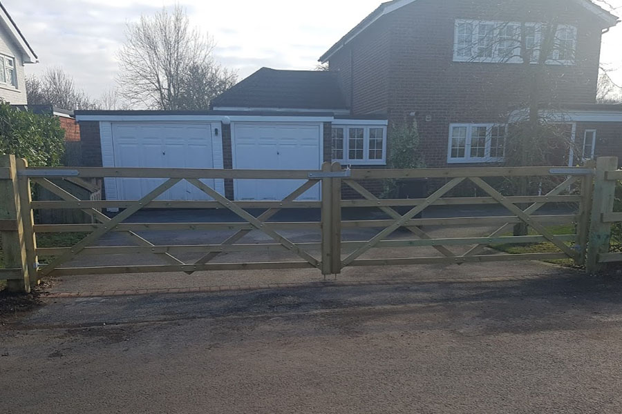 Post & Rail Fence Installation | Chelmsford Fencing and Landscaping
