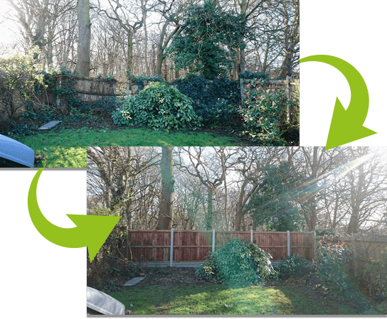 Project Transformation   Chelmsford Fencing and Landscaping