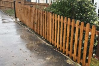 Round topped picket fencing | Chelmsford Fencing and Landscaping