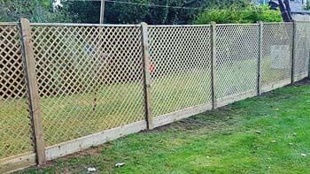 Trellis Fence Installation   Chelmsford Fencing Installation