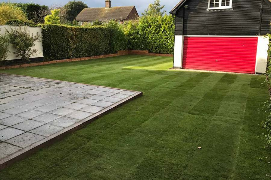 Turf Laying Installation | Chelmsford Fencing and Landscaping6