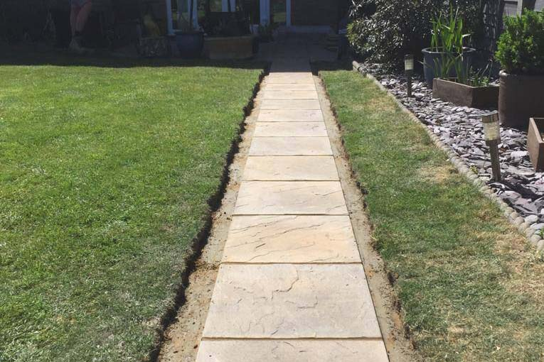 Pathway Installation | Chelmsford Fencing and Landscaping