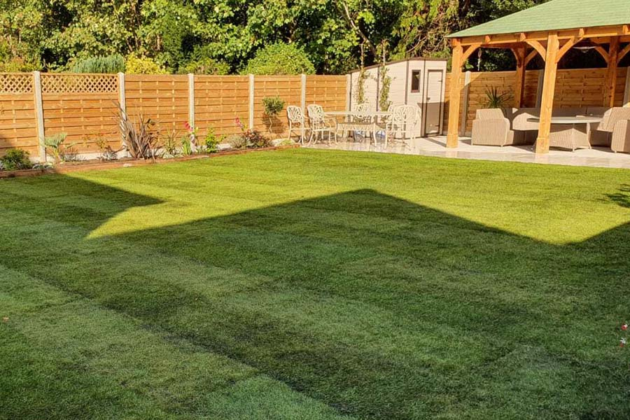 Turf Laying Installation | Chelmsford Fencing and Landscaping